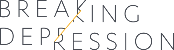 Breaking depression logo